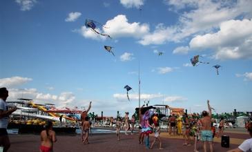 Отмечаем Всемирный день ветра всем аквапарком